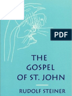 Rudolf Steiner - The Gospel of St John