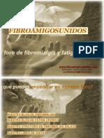 FIBROAMIGOSUNIDOS Foro de Fibromialgia y Fa