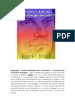 Reforma en Latinoamerica-DAVID STOLL