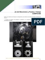 Armado Del Mecanismo y Puesta a Tiempo de CDMPS1000