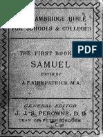 9. 1st Samuel