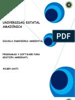 PROGRAMAS Y SOFTWARE PARA GESTIÓN AMBIENATL