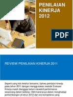 Penilaian Kerja 2012