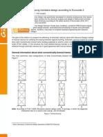 Bracing Design to Eurocode 3