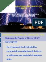 Metodos de Puesta a Tierra Para IE Ing. Flavio Tito