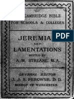 22. Jeremiah and Lamentations
