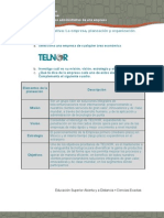 FA_U2_A1_Actividad formativa La empresa, planeación y organización