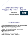 Ch7 FourierTransform Continuous-Time Signal Analysis