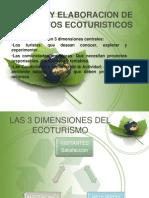 DISEÑO Y ELABORACION DE PROYECTOS ECOTURISTICOS TUR 6