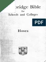25. Hosea
