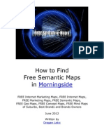 How to Find Free Semantic Maps in Morningside - June 2012