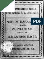 29. Nahum, Habakkuk, And Zephaniah