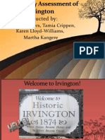 Community Assessment of Irvington FINAL1