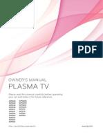 Plasma Tv Owners Manual