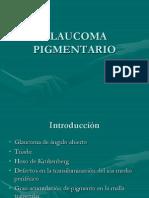Glaucoma Pigmentario