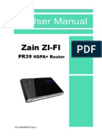 Zain PR39 User Manual 20110131-2