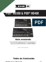 POD HD300 Advanced Guide - Spanish ( Rev a )