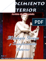 """MITOLOGIA GRIEGA Y TRANSFORMACIÓN INTERIOR. Revista digital gratuita """"Conocimiento Interior"""""""