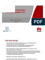 93469305 3G HW HCPT New Sites Parameter Setting Guideline v 2