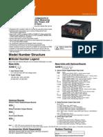 K3HB - VLC 100-240VAC