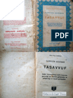 İslamiyet'in geliştirdiği Tasavvuf
