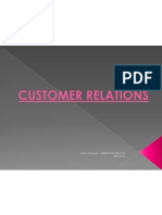 Customer Realtions and Services Vs