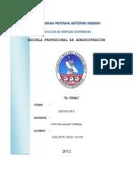 El Tunel Informe