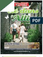 Un été dans l'Allier - le guide 2012