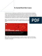 How to Install Red Hat Linux