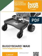 Lascal BuggyBoard-Maxi Owner Manual 2012 (English)