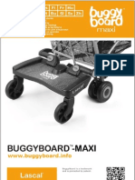Lascal BuggyBoard-Maxi Owner Manual 2012 (Svenska)