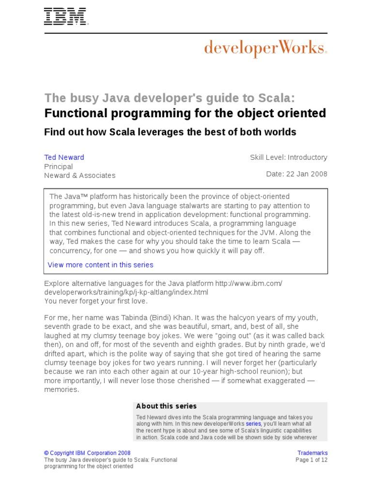 j Scala01228 PDF | Scala (Programming Language) | Anonymous