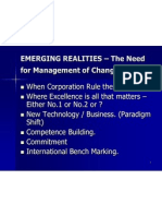 Emerging Realities