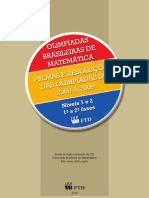 Olimpiada Brasileira de Matematica