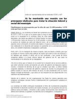 PSOE-GETAFE buscando soluciones.