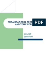 Organisational Excellence and Team Work(h)