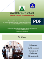 wAter Sanitation and Hygiene (WASH) Through School. School as Center of Excellence