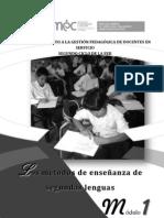 los metodos de enseñanaza en segundas lenguas