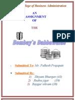 Project of Bombays Dabbawalas