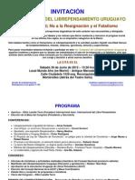 1Congreso Librepensamiento Uruguay-programa