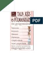 Fasi Katalin - Talp- Kez- Es Fulmasszazs