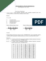 Analisis Regresi Linear Sederhana
