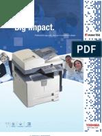 Toshiba e STUDIO 166 Digital Copier Brochure