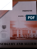 Prospectus Surg Nd Allied Part 1 Fcps