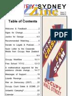 OccupySydneyZine 2012 06 29 I11V5 eBook (Small)