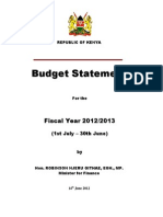 14 06 2012 13 Budget Speech Distribution Final _MF_TIMOTHY MAHEA