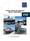 FTA Noise and Vibration Manual 2006