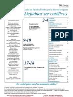 Semanario Católico Alfa y Omega. nº 792. 28 Junio 2012