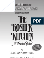 KASHERING FOR PESACH