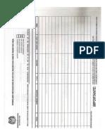 Formulario de recolección de firmas para el referendo No a la reforma a lajusticia